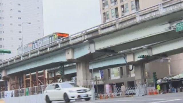 過年拆忠孝橋引道 汽機車繞路多花12分鐘