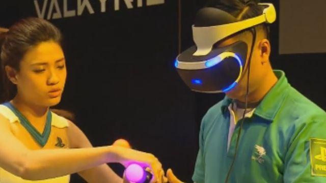 亞洲最大電玩展 虛擬實境VR成亮點