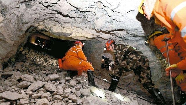 陸版《智利礦難69天》再現!山東礦工埋地底35天