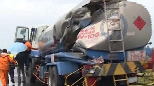 油罐車故障停路肩 16秒後駕駛遭撞亡