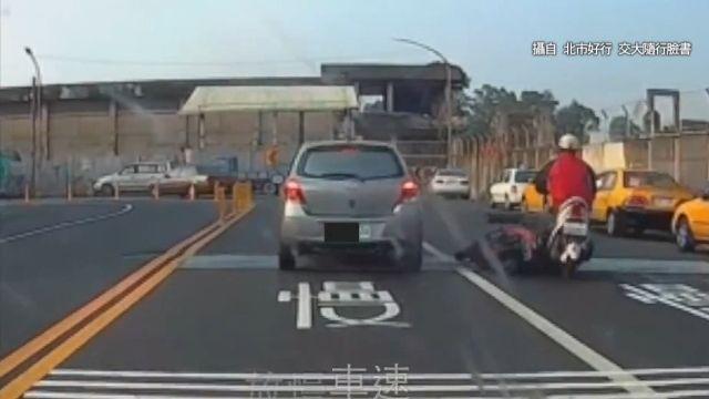 車輾人、人撞飛 交通宣導影片驚悚破表