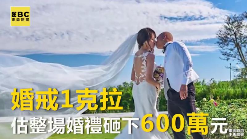 小馬六百萬婚宴 套牢遊戲業公主