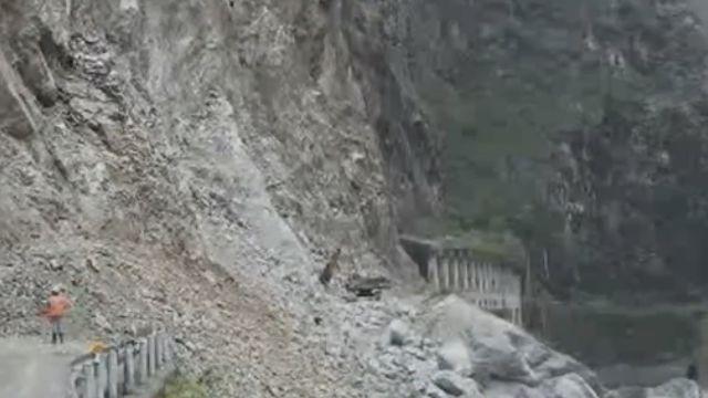 中橫公路再坍!「華祿溪路段」二度坍急搶修