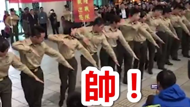 國軍招募再出新招 海陸踢踏舞超吸睛!