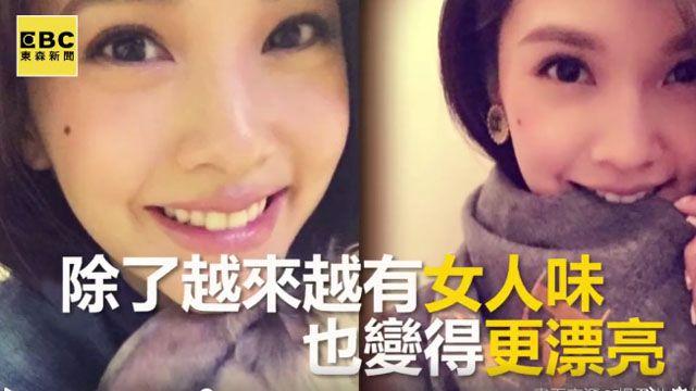 楊丞琳Po美照 竟和昆凌與angelababy撞臉?
