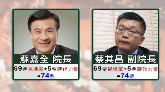 立法院正副龍頭選舉 綠委技術性亮票花招百出