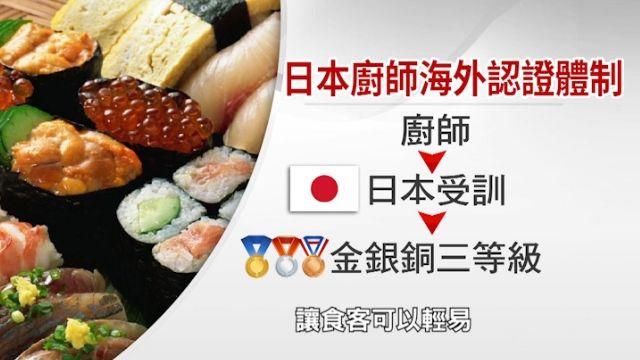 捍衛「和食」老招牌 日推海外廚師認證體系