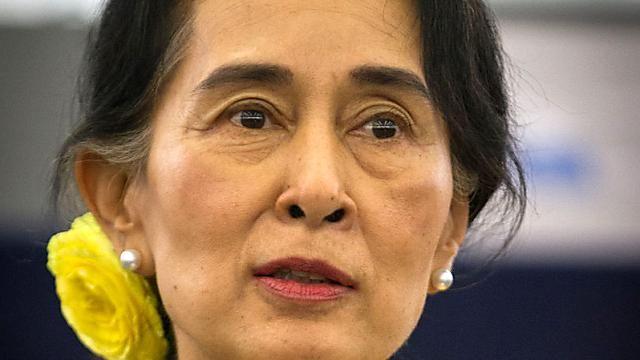 緬甸新國會開議 翁山蘇姬時代揭幕