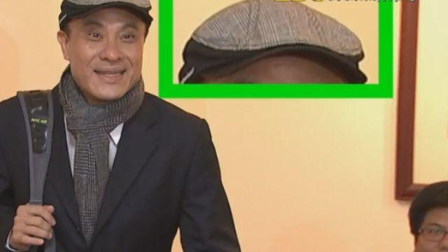 紳士帽搭格紋圍巾 蘇嘉全「型男」造型上工