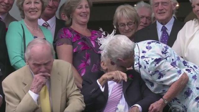 沒下跪求婚  怕再起不來!103歲和91歲真愛