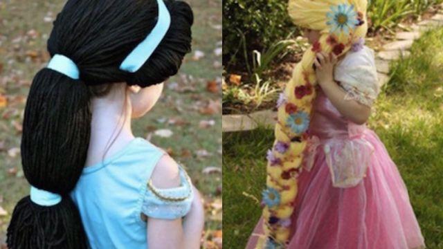 不畏病魔偷髮 小女孩成最美「長髮公主」