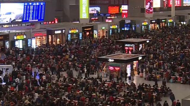 陸春運28億人遷移 武警坐鎮「包圍」北京西站