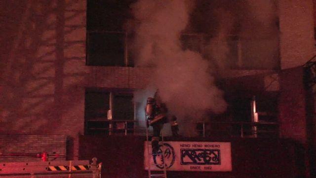 床上抽菸釀火警 4住戶遭嗆傷送醫