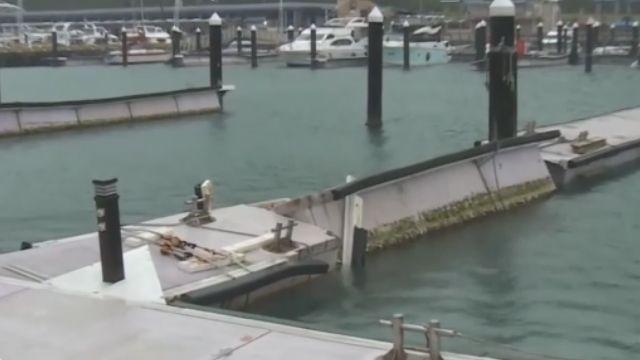 耗4.6億整修 八斗子「遊艇碼頭」1年就壞