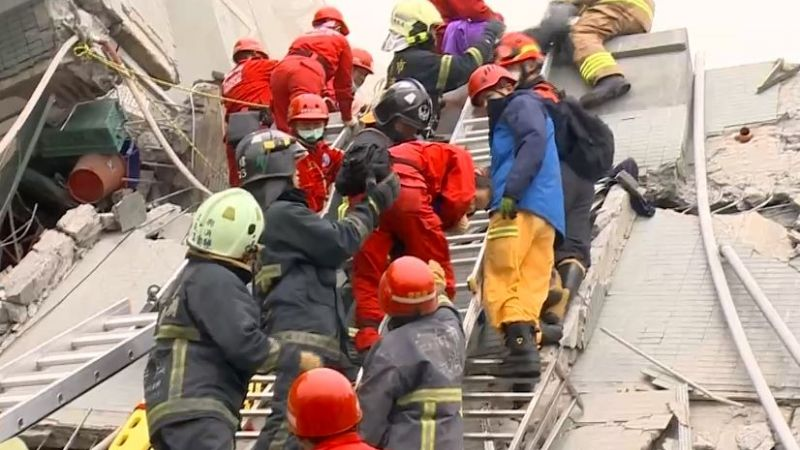 台南206大震! 見證瓦礫堆下「生命奇蹟」