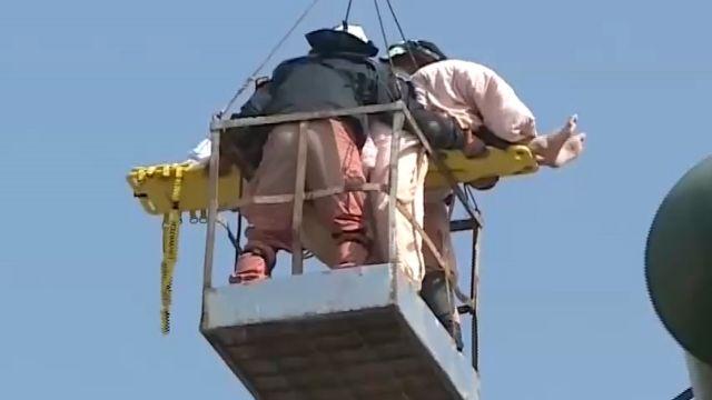空拍紀錄急救援! 32歲邱國雄受困30小時獲救