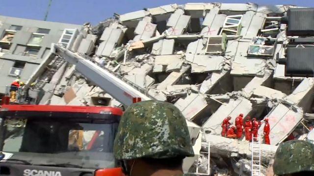 世界記者湧入災區 連線報導台灣強震