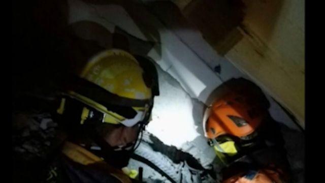 「看見手電筒的光」 20歲黃洸偉鋼筋水泥中求救