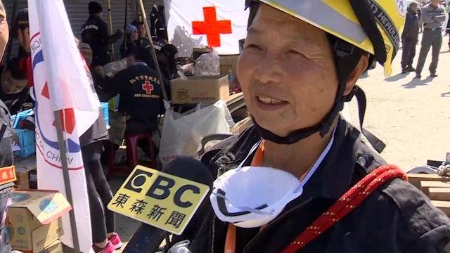 走過921創傷 70歲阿嬤擔任搜救員