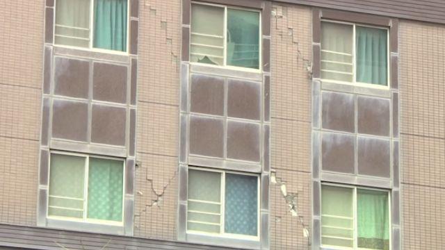 你家有嗎? 大樓外牆「X形裂縫」損抗震力