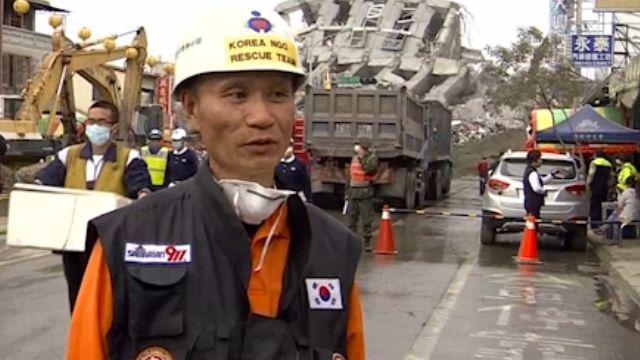 韓救難隊攜精良設備抵台 欲多上場救災