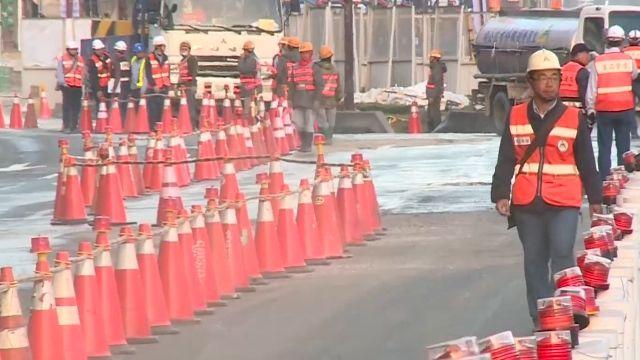 忠孝橋上午8點恢復通車 下周一開工成考驗