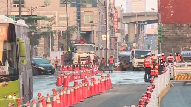 忠孝橋引道拆除完工 今晨8點通車