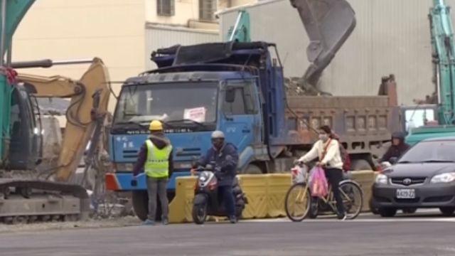 維冠災後215小時 開工首日永大路恢復通車