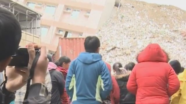 曾歷八八風災 錫安山教友震災現場祈禱