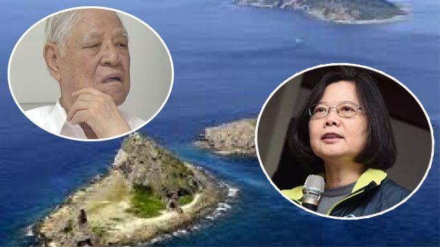 「釣魚台是台灣的」 蔡英文反駁李登輝