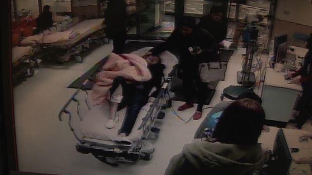 PUB下班遭槍擊 爛醉女子自稱被搶劫