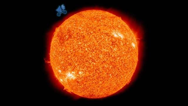 比外星人更靠近!NASA公布HD太陽縮時攝影