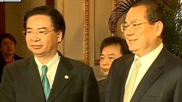 新舊政府首次交接會 馬蔡代表繃緊神經
