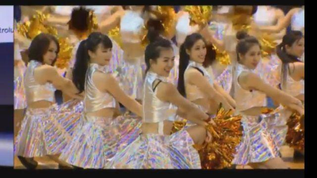 擺脫端莊印象! 「空服員」組啦啦隊熱舞