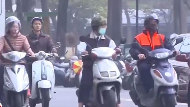 冷氣團挾沙塵空襲 PM2.5恐致罹癌亡