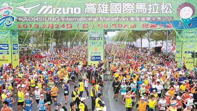 「紫爆」還跑馬拉松 參賽者如人肉空氣清淨機