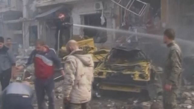 敘利亞首都1日4爆 民眾目睹炸彈客自殺攻擊