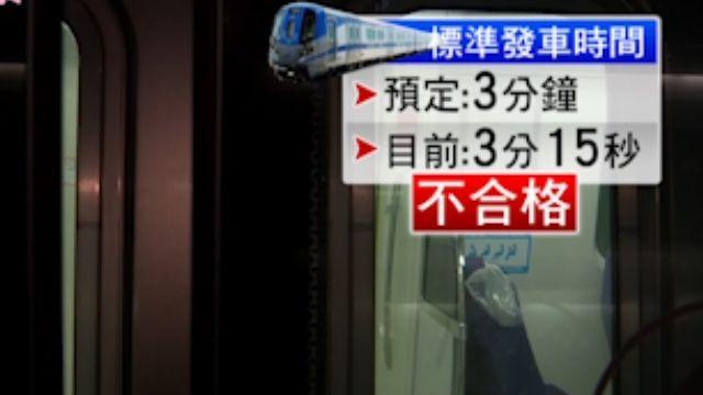 台北、桃園35分鐘到不了 「機捷」六度跳票