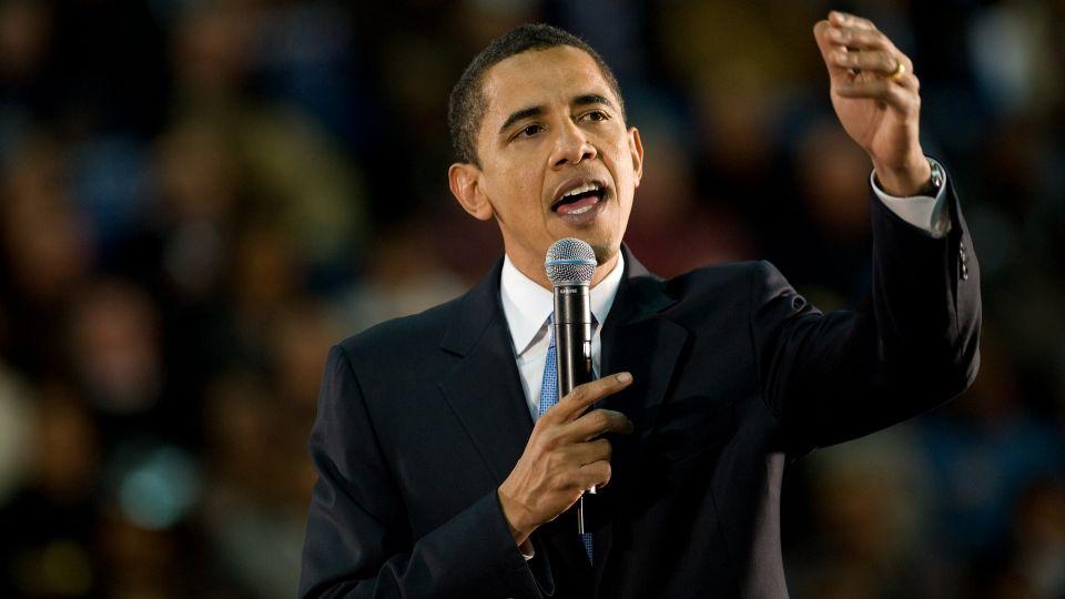 聽到歐巴馬快卸任 小女孩大哭無法接受