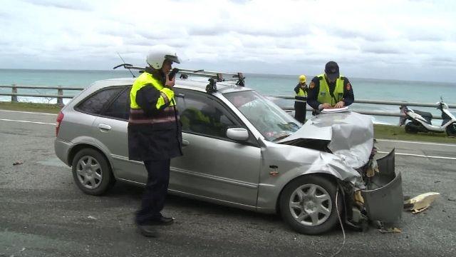 駕駛疑分心害對撞 四人輕重傷送醫