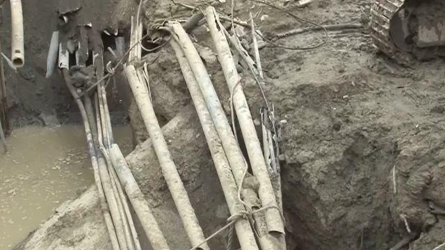 台南主輸水幹管搶通 新化又有管線斷裂