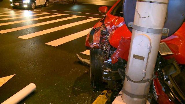 「車不是我開的」 酒駕自撞 車上3人裝傻不認