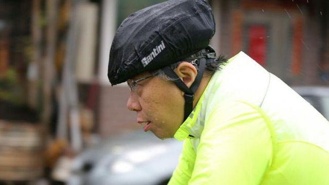 市長展「騎」蹟 柯P:找回台灣人民信心