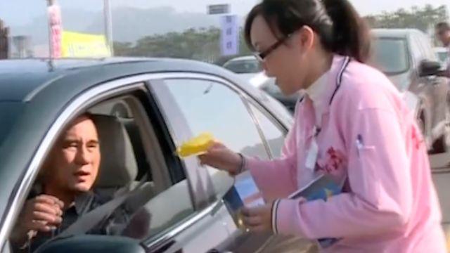 中台灣天氣晴 連假景點湧現人車潮
