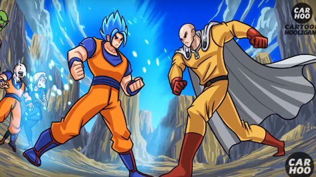 悟空VS.一拳超人 結局讓人超傻眼!