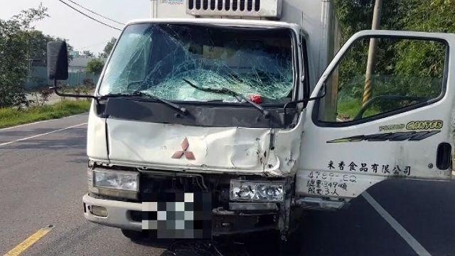 貨車撞單車釀1死1傷 嫌犯下跪懺悔