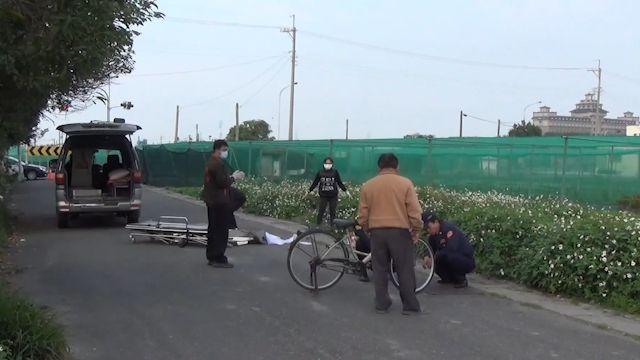 七旬婦人疑似閃車緊張 滑倒遭貨車輾斃