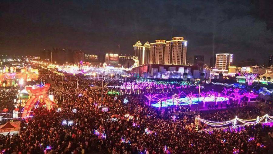 單日300萬人次 人潮擠爆台灣燈會 創27年新紀錄