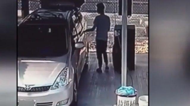 自助洗車場成私人垃圾場 老闆懸賞五千抓人