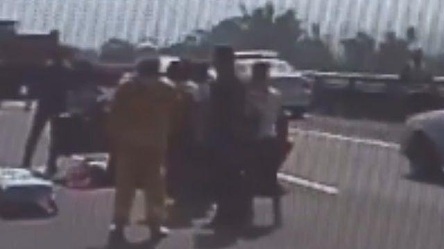 砂石車輪胎殺人! 國道砸對向車 姊妹1死1傷